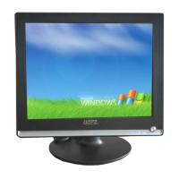Silver Plastic 17  HDMI LCD Monitor 1080P With Ultra Slim Screen Manufactures