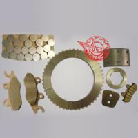 Dry Copper-Base Friction Material Powder Metallurgy Parts for Dry Clutch Or Dry Brake Manufactures