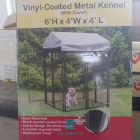 China Pet House Outdoor Welded Wire Mesh Fence Panels Dog Kennels Corrosion Resistance on sale