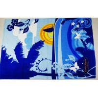 compressed beach towel, printed beach towels/promotional beach towels
