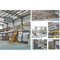 5 Layer Corrugated Cardboard Production Line , 80KW Packaging Box Manufacturing Machine Manufactures