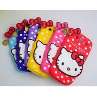 China lovely hello kitty silicon Case For iPhone 4 5s 6s plus SAMSUNG galaxy S6 S7 NOTE 3 5 on sale