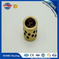 Quality All Kinds of Sintered Self-lubricating Copper Brass Oilless Bearing Oiless Bronze Bearing Sliding Bearings for sale