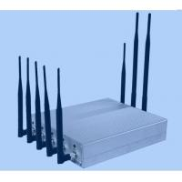 Desktop 8 Channel Mobile Jammer Device CDMA / GSM Signal Jammer Manufactures