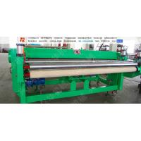 Hige Speed Automatic Carpet Cutting Machine , Non Woven Fabric Cutter Frequency Control Manufactures