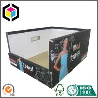 Custom Color Printing Corrugated Display Box; Strong Heavy Duty Paper PDQ Manufactures