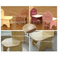 China Wooden Bamboo Flower Young Children Chair Kids Chair on sale