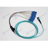 Buy cheap IEC Standard MPO MTP Patch Cord 12Cores Fiber Optic Cable MTP-SC OM3 from wholesalers