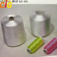 Garments Accessories 100% Spun Polyester Sewing Thread Soft Hand Feeling Manufactures