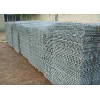 Green Powder Coated Stone Cage Wire Mesh Twill Weave 80*100 Size Manufactures