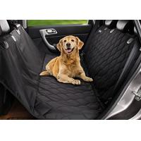 Comfortable Pet Hammock Car Seat Cover , Cat Dog Seat Covers For Cars Manufactures