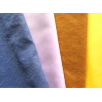 100% Polyester, Nylon Polyester Microfiber Peached Water-Repellent Fabrics Manufactures