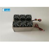 Quality Peltier Water Cooling Thermoelectric Liquid Cooler With Heat Sink for sale