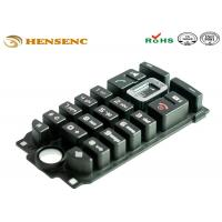 Non Stick Medical Grade Silicone Injection Molding Button Rubber Keypad Manufactures