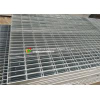 China Twisted Square Bar Hot Dipped Galvanized Steel Grating Mechanical Interlock on sale
