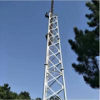 China Tubular Telecom Tower Communication Tower Self Support Signal Transmission on sale