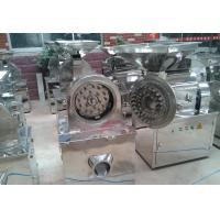 Dried Leaf / Corn Grinding Mill Machine , Automatic Spices Powdering Machine Manufactures