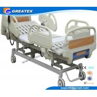 Folding Bed Automatic : Automatic three function folding hospital semi fowler bed