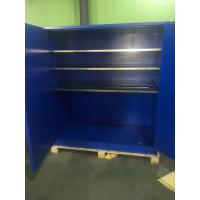 90 Gallon Venting Flammable Cabinets , Pesticide Storage Cabinets For Corrosive Liquids Manufactures