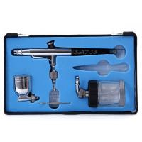 Model 134 Dual Action Airbrush with 7cc / 22cc Side Cup 0.3mm Tip , Model / Craft / makeup Manufactures