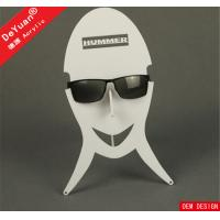 Supermarket New Stylish Sunglass Holder For Car Cheap Case White Color Manufactures