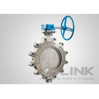 """Lugged High Performance Butterfly Valve 2"""" - 48"""" Stainless Steel Triple Offset Manufactures"""