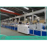 White PVC Panel Board Making Machine Decorating Board Extruder Machine 5~25mm Thickness Manufactures