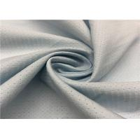 Grey Color Hole Pattern Breathable Outdoor Fabric 100D +100D * 100D + 100D Yarn Count Manufactures