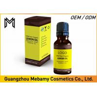 China Lemon Pure Essential Oils Deeply Nourishing No Additives Supports Immune System on sale