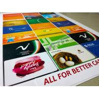 China MGI Digital Printing Inkjet Pvc Sheet For Making Smart Contactless Cards on sale