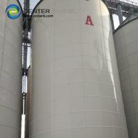 20000 Gallon Bolted Steel Leachate Storage Tanks Confirmed To AWWA Standard Manufactures