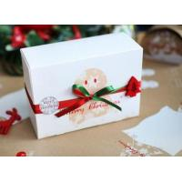 Customized Paper Small Christmas Gift Boxes / Xmas Wrapping Boxes Manufactures
