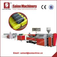 SAIOU plastic HDPE flat corrugated pipe production line Manufactures