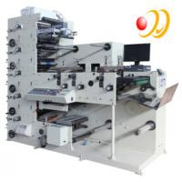 3 Phase 380V 50HZ 5 Color Flexographic Printing Machine With Uv Aire Manufactures