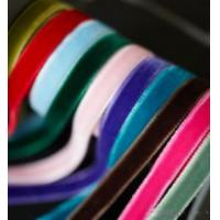 China Single Face And Double Face Velvet Ribbon (xt001) on sale