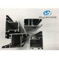 Customized Thickness Casement Aluminium Window Profiles Anodizing Extruded Profiles Manufactures