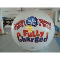 White Reusable durable advertising helium balloons for Entertainment events Manufactures