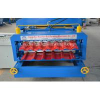 Corrugated Iron cold roll forming equipment , Concrete Roof Tile making Machine Manufactures