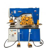 Wadley Hydraulic Ironworker Hole Punching Shearing Machine High Accuracy Manufactures