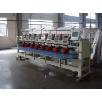 Commercial Computerized 8 Head Embroidery Machine With 270° Wide Cap Frame Unit Manufactures
