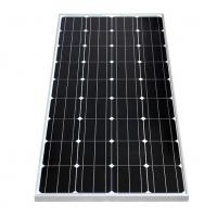Silver / Black Frame Mono Crystal Solar Panel 150W With +/-3% Power Tolerance Manufactures