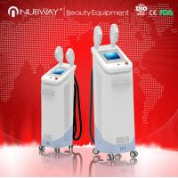 China 2018 Hottest wholesale HR SR two probe stainless head ipl hair removal machine on sale