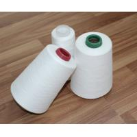 100% Virgin Fiber 30s/2 30s/3 Spun Polyester Yarn Raw White Bright For Sewing Thread Manufactures