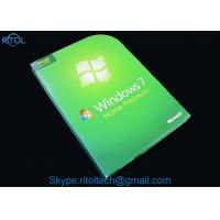 Windows 7 All Versions Dvd PC System Software Ultimate Pro Home Premium Starter Business 32 / 64 Bit Manufactures