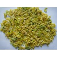 Quality Air Dried Vegetables Dehydrated Cabbage Flakes Max 8% Moisture Typical Flavor for sale