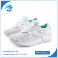 new design shoes comfortable soft breathable women running sports flying shoes Manufactures