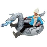 Buy cheap Ice Dragon Winter Inflatable Snow Tube The PVC Ultimate Sled Skiing Matrris from wholesalers