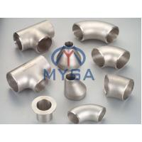Buy cheap Nickel Alloy Butt Welding Fittings/Elbow/Tee/Reducer/Stub End/Cap/ASME/ANSI B16 from wholesalers
