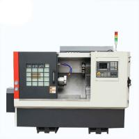 Automatic Lathe Machine Slant Bed GSK Control System 40mm Spindle Bore Manufactures