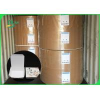 China 120gsm Good Stiffness Water Resistance Lunch Box Paper For Food Packing on sale